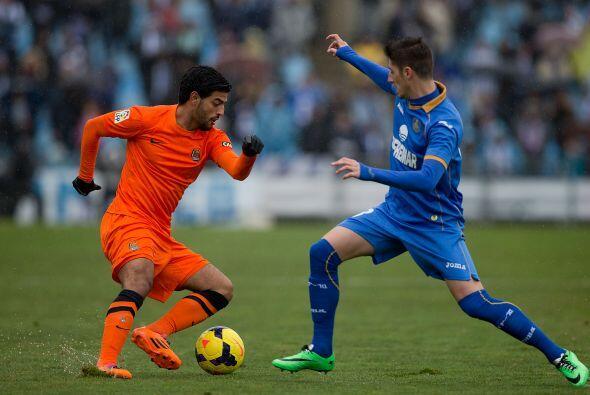 Dos asistencias del mexicano Carlos Vela y dos goles de Imanol Agirretxe...