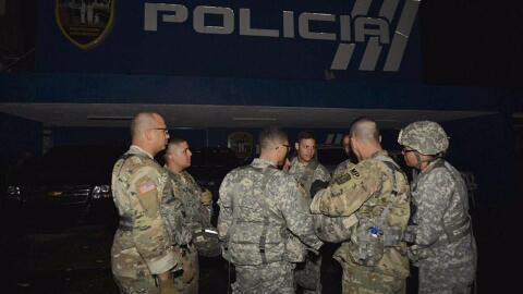 Policías y guardias nacionales participan en operativos contra lo...