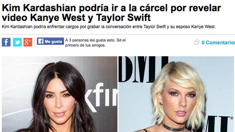 Dos mujeres y un bandido: la telenovennial de Kim, Kanye y Taylor Screen...