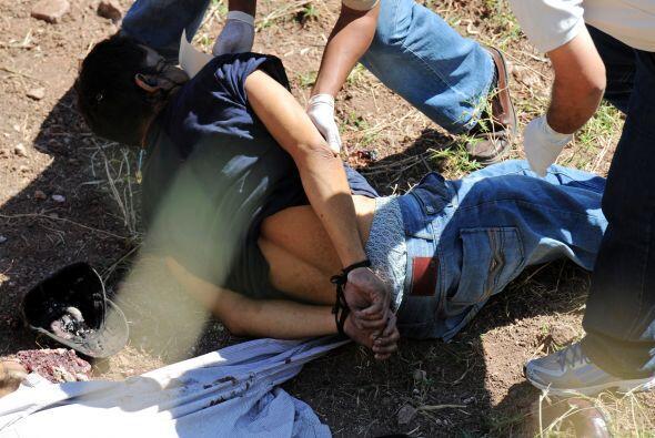 La violencia en Honduras deja un promedio diario de 15 personas muertas,...