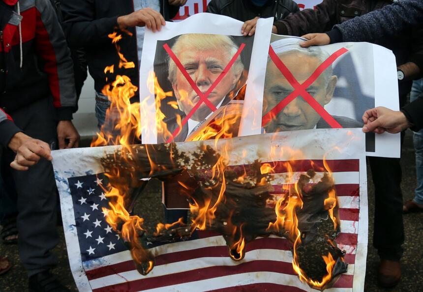 Protestas a Donald Trump