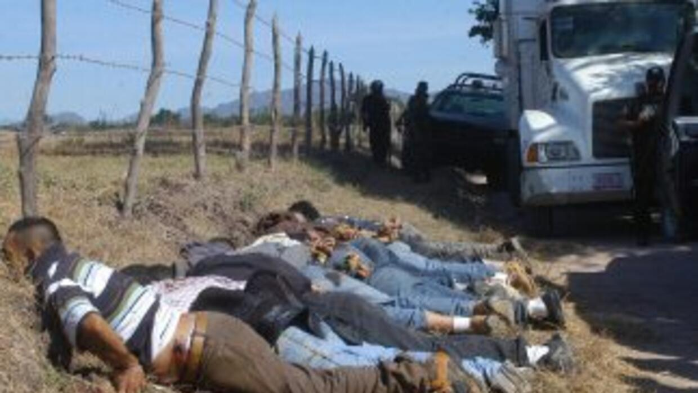 Nueve personas sin vida fueron halladas en un ejido del Municipio de Hid...