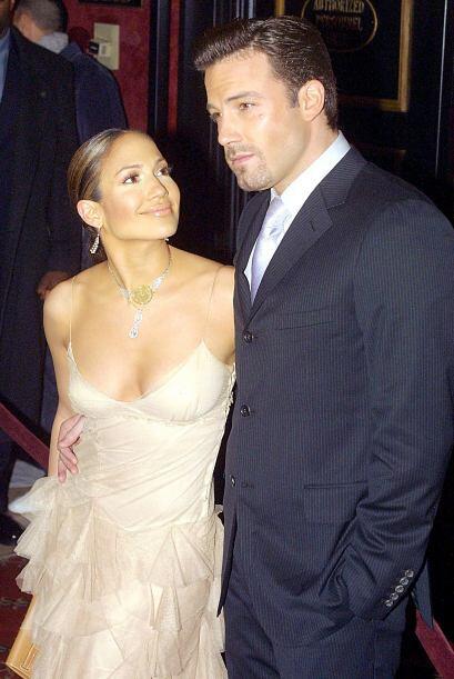 En 2003, Jennifer Lopez se refugió en los brazos del actor Ben Affleck....
