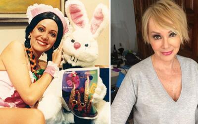 Anabel Ferreira ayer y hoy