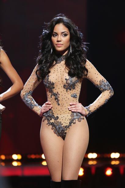 Nabila Tapia de República Dominicana logró encender el escenario con su...