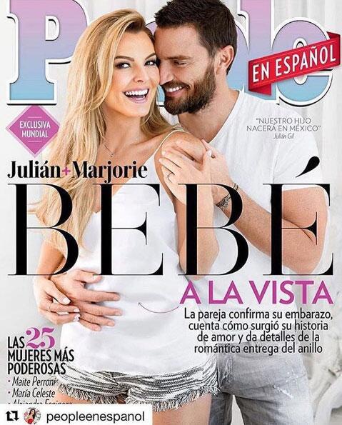 Marjorie de Sousa embarazada