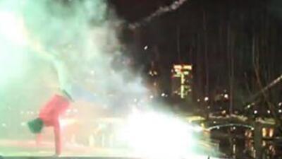 BBoy Fireworks