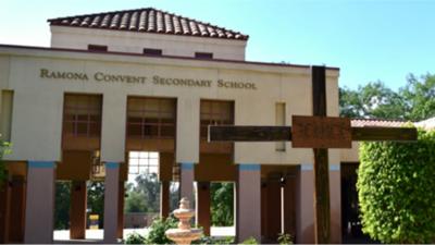 La escuela secundaria Ramona Convent pertenece a la Arquidiócesis de Los...