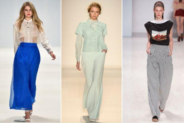 Este tipo de pantalón te ayudará a lucir con el mismo estilo que un vest...
