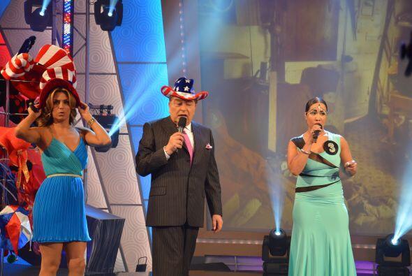 Don Francisco hizo un espectacular dueto con la participante número dos.