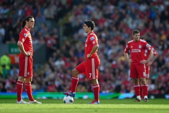 Liverpool fue sorprendido por el Wigan, perdió 2 a 1 y se prendieron las...