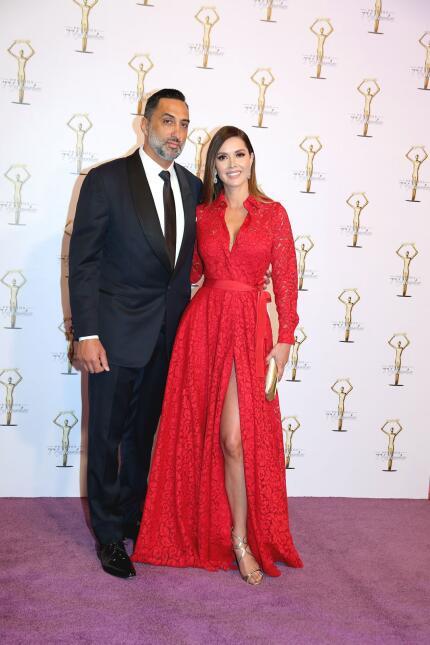 Marlene Favela y su novio George Seely