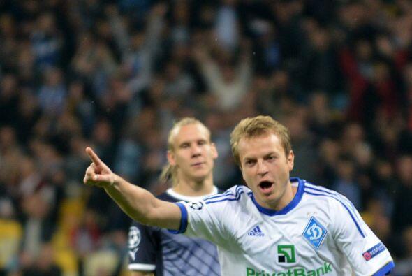 Por último el Dynamo de Kiev se impuso por 2-0 al Dínamo Zagreb.
