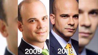 El Dr. Juan mostró su antes y después de 'La Mojito Diet': así luce en su '10 Year Challenge'