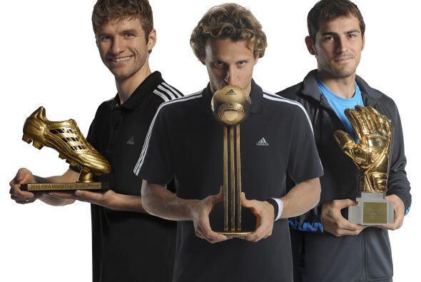El premio al Mejor Jugador del torneo fue para un sudamericano, Diego Fo...