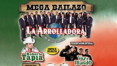 La Arrolladora Banda El Limón, Roberto Tapia, Voz De Mando y más llegan...