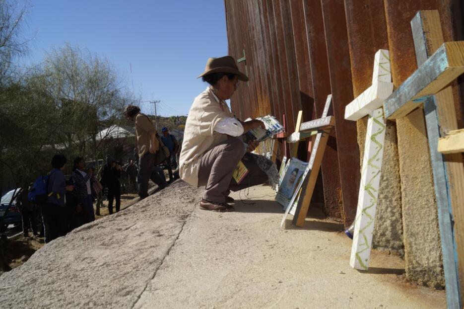Caravana de madres centroamericanas en busca de hijos desaparecidos en s...