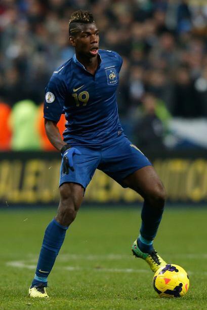Paul Pogba, mediocampista de la Juventus, es de los juveniles que tendr&...