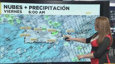Aguaceros se aproximan a Puerto Rico
