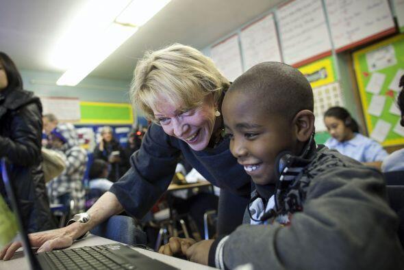 La Canciller visitó escuelas en los cinco condados de Nueva York.