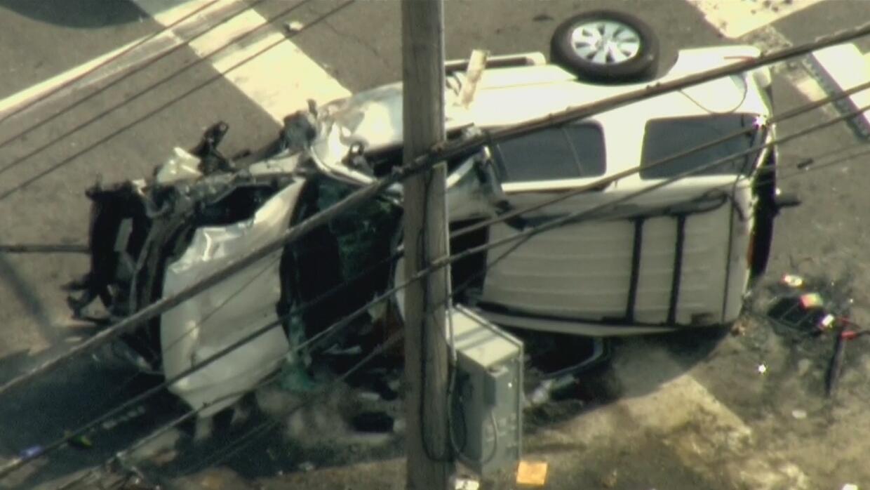 Aparatoso accidente vehicular cobra la vida de una mujer de 60 años de e...