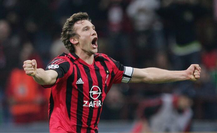 Temporada 2005/2006 - Andriy Shevchenko (A.C. Milan) con 9 goles.