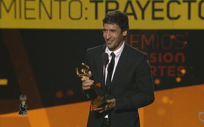 Raúl gana el Reconocimiento a la Trayectoria Deportiva