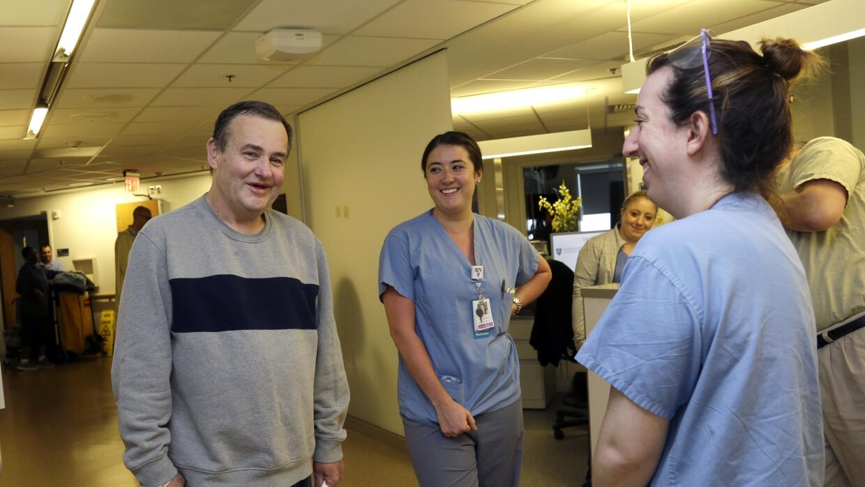 Thomas Manning fue operado en el Massachusetts General Hospital en Boston