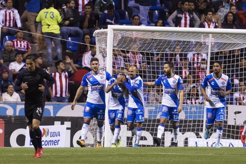 Puebla vs. Chivas en vivo Clausura 2018.