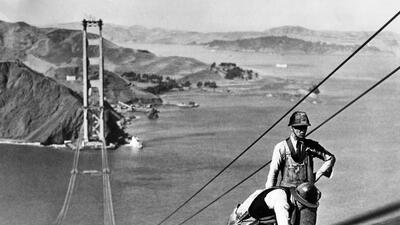 En fotos: El imponente puente Golden Gate cumple 80 años