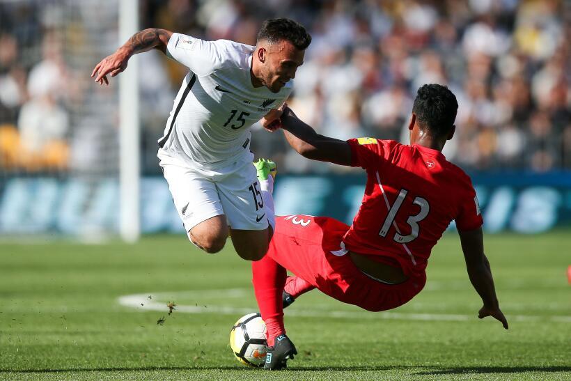 Perú empató sin goles en visita a Nueva Zelanda  gettyimages-872708646.jpg