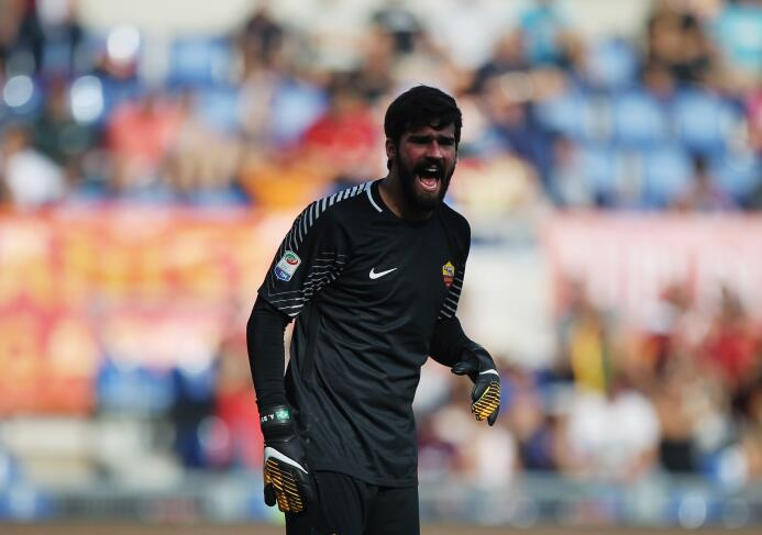 Fiesta y triunfo para la Roma tras vencer 3-1 al Udinese as-roma-goalkee...