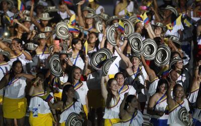 Colombia le dio la bienvenida a los mejores deportistas de la regi&oacut...
