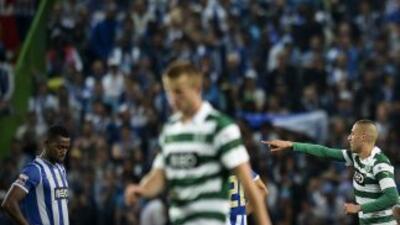 El gol de Islam Slimani mató las aspiraciones de los 'Dragones'.