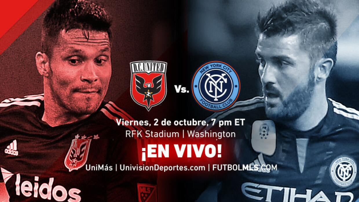 EN VIVO | D.C. United vs New York City FC