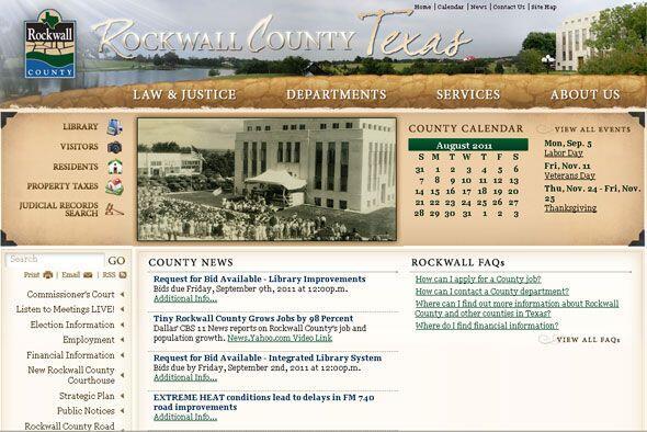 1. ROCKWALL COUNTY, TEXAS- A pesar de ser uno de los condados más...