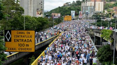 Cómo las protestas en Venezuela han cambiado la vida de sus calles