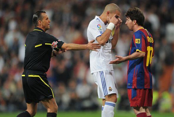 Pepe nos muestra se puede anular a un rival con la mente... concentració...