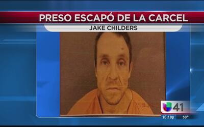 Autoridades buscan a un reo que se escapó de la cárcel del condado Live Oak