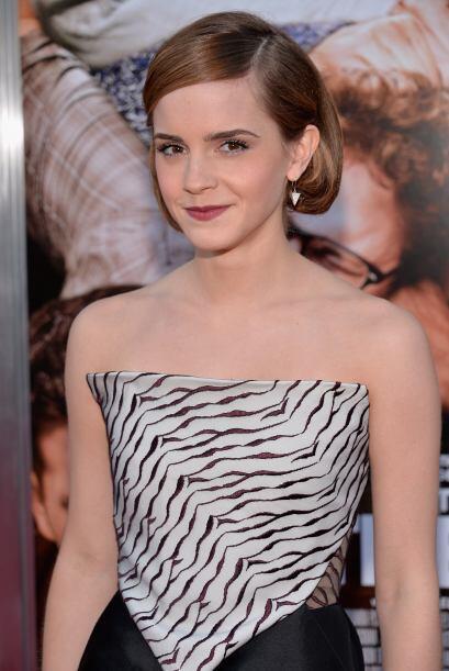 Emma Wattson, quien interpretó a Hermione Granger en la saga de Harry Po...
