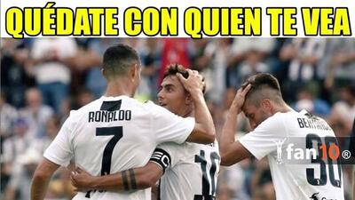 Memelogía: Cristiano Ronaldo debuta con Juventus y las redes se burlan de los madridistas