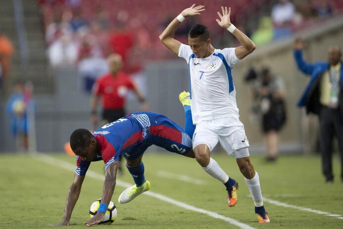Carlos Chavarría (Nicaragua): un gol.