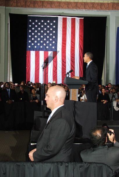 Durante su discurso Obama dijo que hace cuatro años ofreció un cambio.