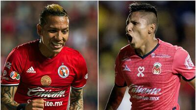 Grandes 'killers' pelearán por el título de goleo del Clausura 2017 de la Liga MX