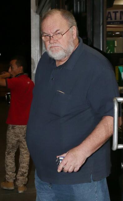 Thomas Markle, el padre de Meghan Markle.