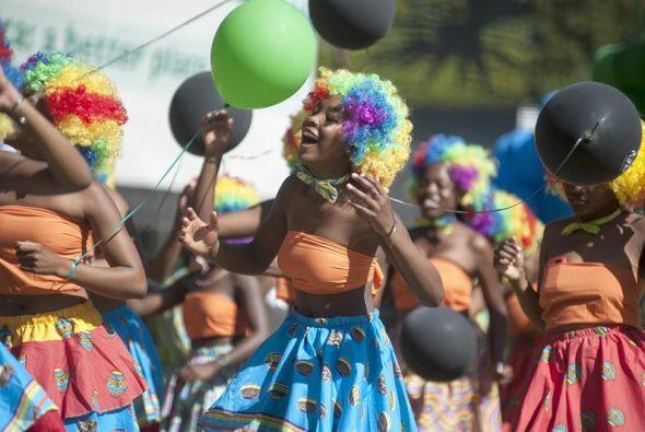 Sudáfrica el 27 de abril marcó el 20 como el aniversario de las primeras...