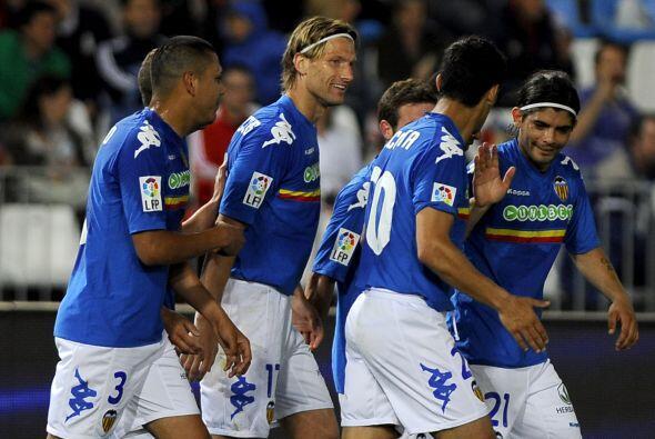 Y en la más reciente victoria del Valencia, ante el Almería, convirtió u...