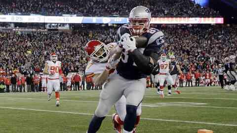 Patriots 27-20 Chiefs: NE termina la racha de KC y va por el título AFC...