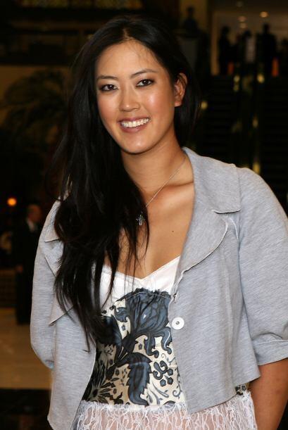 La famosísima Michelle Wie es original de Hawai, hija de padres coreanos...