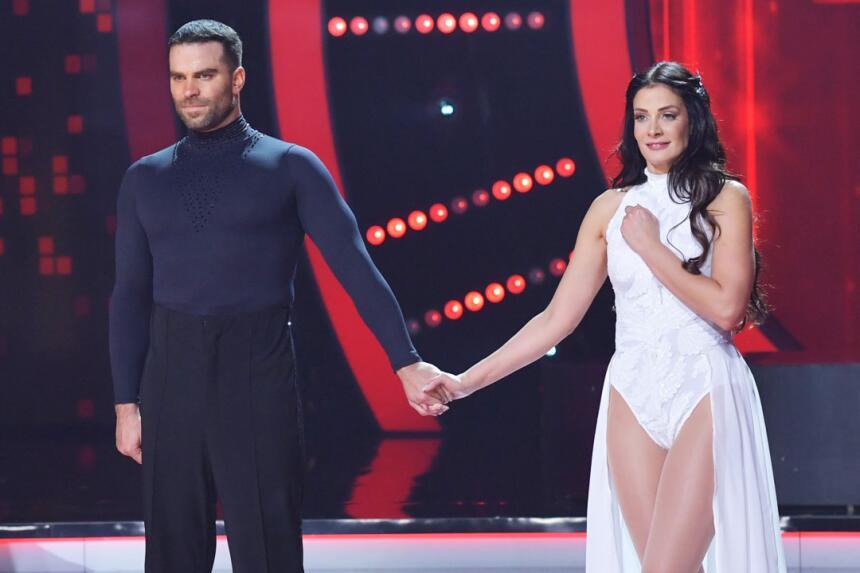 Dayanara Torres y Alejandro Nones.